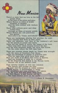 Indian & Poem , NEW MEXICO , 30-40s
