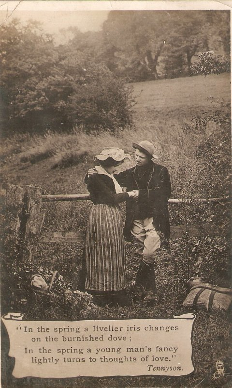 Couple romance. In the spring a livelier.. Tuck Illustrated Poets Ser. PC #