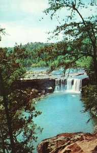 Vintage Postcard Cumberland Water Falls As Niagara Of South Near Corbin Kentucky