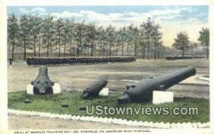 Drill At Berkley Station - Norfolk, Virginia