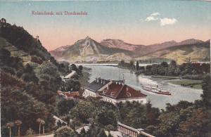Rolandseck mit Drachenfels , Germany , 00-10s