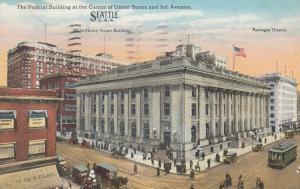 SEATTLE, Washington, 1916;  Federal Building,Corner of Union Street & 3rd Ave.