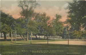 Pomfret Connecticut~Ben-Grosvenor Grounds~House~Trees~1910 Handcolored Albertype