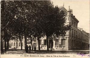 CPA  Saint-Marcellin (Isére) - Hotel de Ville et Sous-Préfecture  (652916)