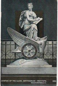 WASHINGTON , D.C. , 1901-07 ; Statue of the Clock , Smithsonian Instutute