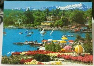 Switzerland Velden am Worther See Schlosshotel gegen Mittagskogel - posted