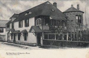 ST. AUGUSTINE , Florida, 1901-07 ; Oldest House