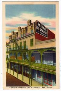 Antoine's Restaurant, New Orleans LA