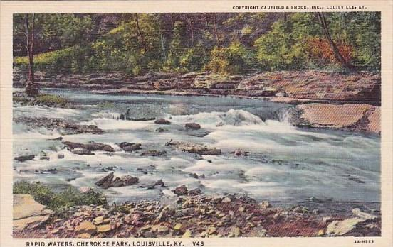 Rapid Waters Cherokee Park Louisville Kentucky