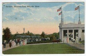 Holyoke, Mass, Pavilion, Mountain Park