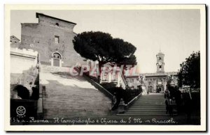 Old Postcard Roma Campidoglio A Chiesa Di SML in Aracoeli