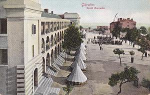 South Barracks, GIBRALTAR, 1900-1910s