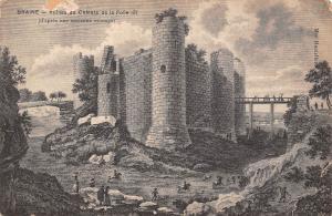 France Braine - Ruines du Chateau de la Folie Castle