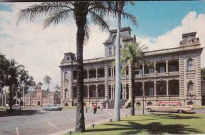 Hawaii Honolulu Iolani Palace