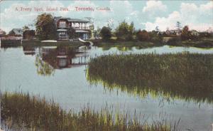 A pretty spot , Island Park , TORONTO , Ontario , Canada , PU-1909