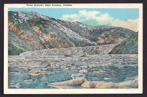 Taku Glacier Juneau Alaska used c1929