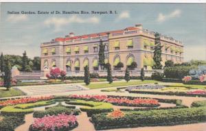 Rhode Island Newport Italian Garden Estate Of Dr Hamilton Rice