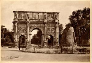 Italy - Rome, Arch of Constantine   *RPPC