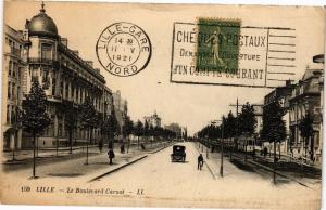 CPA LILLE-Le Boulevard Carnot (188439)
