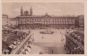 France Nancy La Place Stanislaus vue de l'Arc de Triomphe
