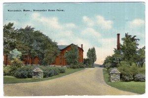 Worcester, Mass, Worcester Home Farm