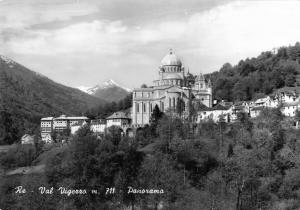 Vintage REAL PHOTO Postcard Valle Vigezzo Panorama ITALY