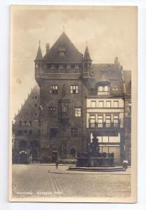 Germany Nurnberg Nassauer Haus Nuremberg RPPC Real Photo