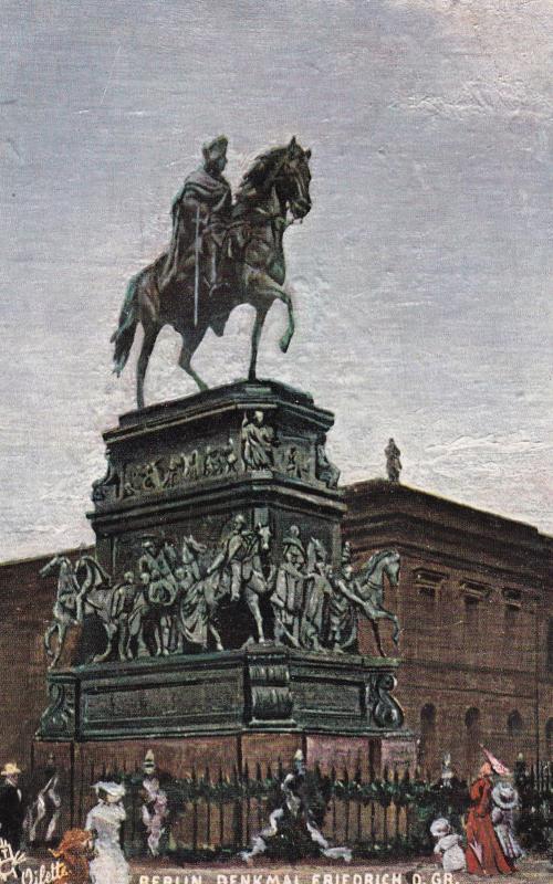 TUCK #182 B; BERLIN, Germany; Denkmal Friedrich, D. Gr., PU-1907