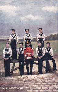 GREENWICH , England , 00-10s ; Boys of Royal Naval School , TUCK
