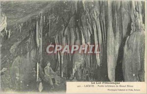 Old Postcard Lot Lacave Picturesque Part Inferieure Grand Dome