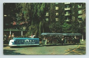 Sheraton Park Train Hotel Motor Inn Connecticut Ave Washington D.C. Postcard