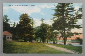 View At The Pines, Haverhill MA Postcard (#7947)