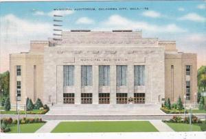 Oklahoma Oklahoma City Municipal Auditorium 1940