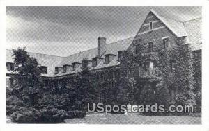 Mason Residence Hall for Men, Michigan State College East Lansing MI Unused