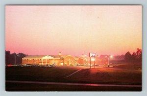 Cincinnati OH- Ohio, Ramada Inn, Advertising, Chrome Postcard