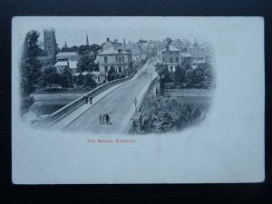 Worcestershire EVESHAM The Bridge c1907 Postcard by The Smith Series