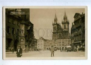 206636 CZECH PRAGA Staromestsky orloj St.Kynzl photo RPPC