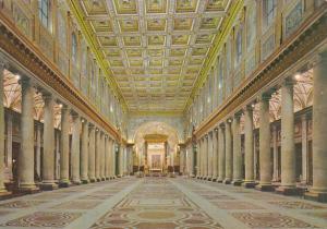 Italy Roma Rome Basilica di San Maria Maggiore Interno