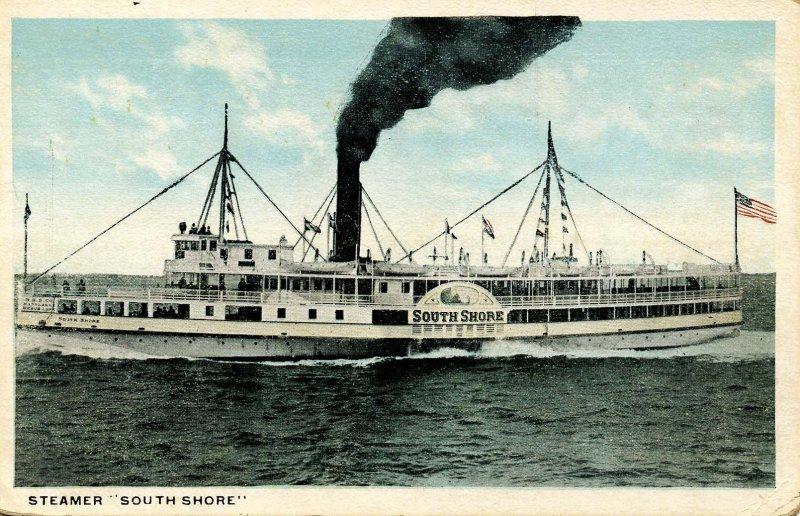 SS South Shore; Plymouth, Massachusetts