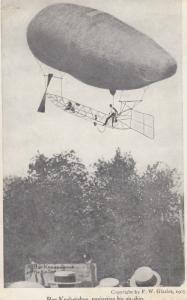 Roy Knabenshue , Navigating Air-ship , 1905