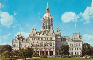 The State Capitol at Hartford Connecticut CT Postcard