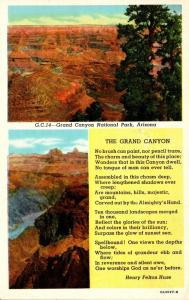 Arizona Grand Canyon National Park Curteich