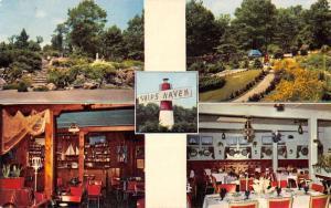 Lynnfield Massachusetts Ships Haven Light House Vintage Postcard K38262