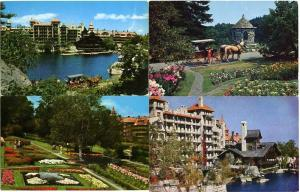 (8 cards) Mohonk Lake Mountain House Resort & Grounds Ulster County NY New York