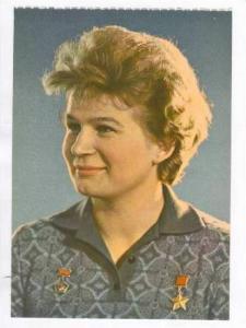 Russian Cosmonaut (female) portrait, 1960s #9