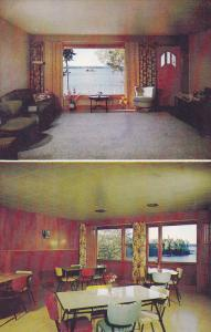 Lakeside Lodge, Main Room And Dinning Room, CRANBERRY PORTAGE, Manitoba, Cana...