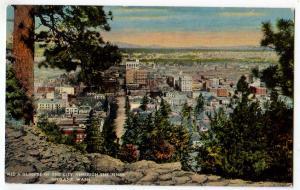 Aerial View of the City, Spokane WA