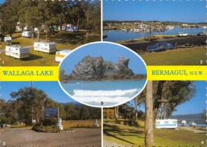 Australia Multi View Postcard, Wallaga Lake, Bermagui, New South Wales 85Z