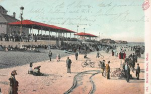 Revere Beach, Massachusetts, Early Postcard, Used in 1907