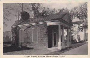 South Carolina Cheraw Cheraw Lyceum Building